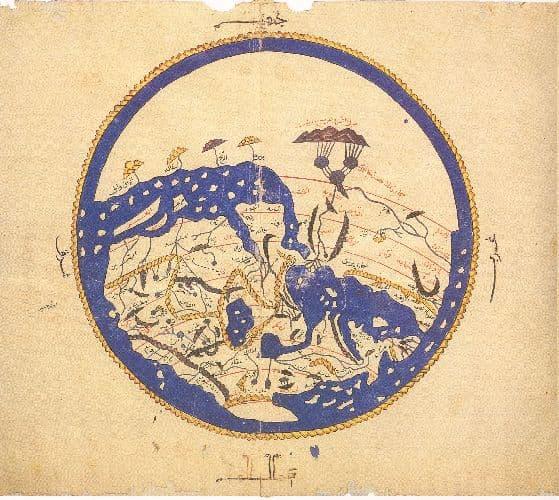 Запад, восток, север, юг – расположение на карте по сторонам, обозначения