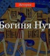 Нут – богиня неба в мифологии Древнего Египта