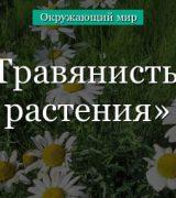 Травянистые растения – плоды, формы листьев, характерные признаки (1 класс)