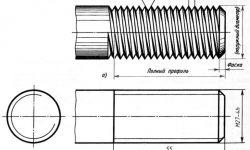 Обозначение резьбы на чертежах по ГОСТу - основные виды и маркировка