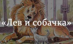 «Лев и собачка» краткое содержание были Толстого – читать пересказ онлайн