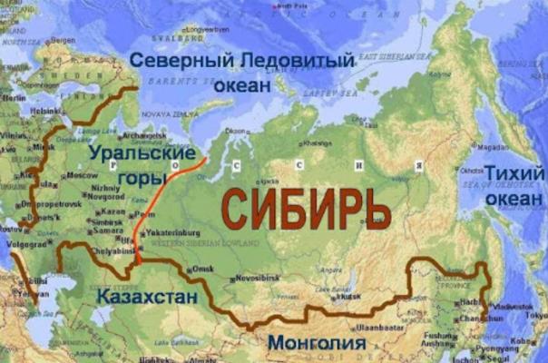 Реки Сибири – список названий, характеристика крупнейших кратко