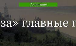 Главные герои «Гроза» характеристика персонажей пьесы Островского в краткой таблице
