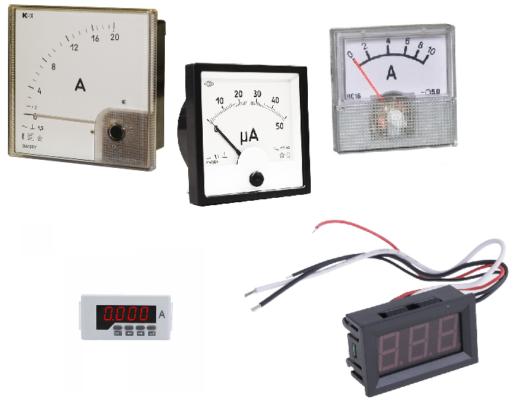 Единица силы тока – измерение в системе СИ