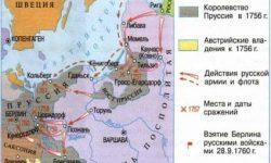 Семилетняя война 1756-1762 гг.