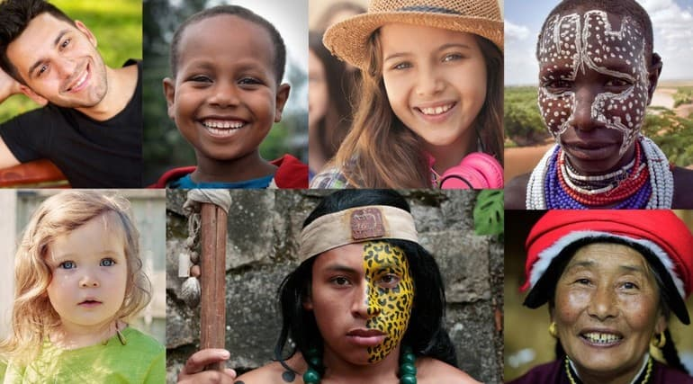 Расы людей на Земле - общие характеристики и отличительные особенности