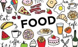 My favourite food ? топик на английском языке, сочинение-рассказ о любимой еде на английском с переводом, tasty sandwiches, mashed Potatoes, potato crisps, spaghetti, pizza