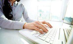 Основные позиции пальцев на клавиатуре при обучении слепой печати