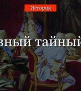 Верховный тайный совет – создание при Екатерине 1, деятельность и упразднение в истории России