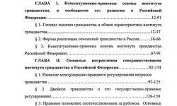 Институт гражданства Российской Федерации