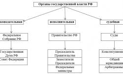 Органы государственной власти Российской Федерации