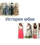 История возникновения юбки - описание, виды и интересные факты
