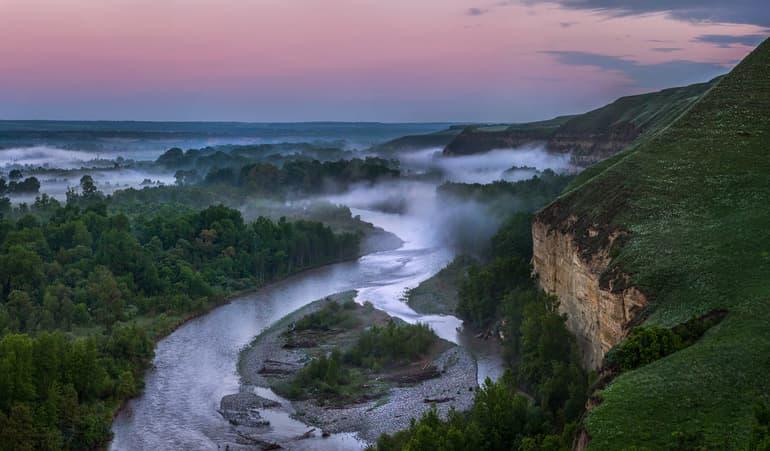Река Кубань - географическое положение, характеристика и использование