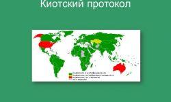 Киотский протокол 1997 года - содержание, идея и суть