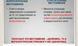 Относительные местоимения в русском языке
